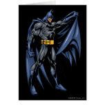 Cara a todo color 2 de Batman Felicitación