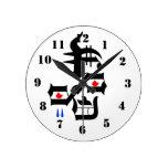 Cara abstracta relojes