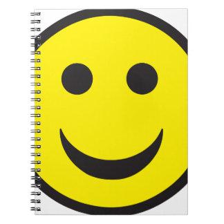 Cara ácida del smiley de la casa note book
