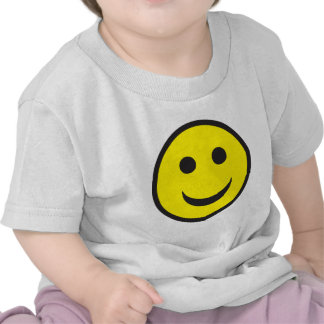 Cara ácida del smiley de la casa camisetas