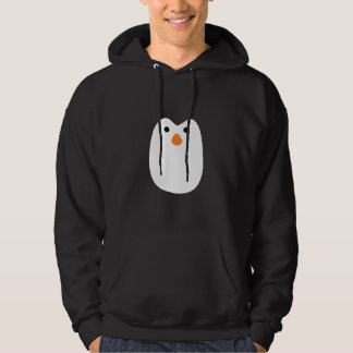 cara adorablemente linda del pingüino sudadera