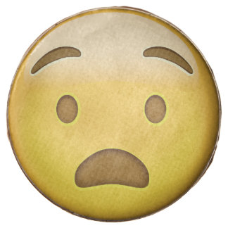 Cara angustiada Emoji