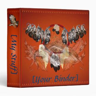 "Cara binder_15_front.v4 del halcón de Dreamcatcher Carpeta 1 1/2"""
