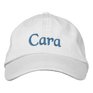 Cara bordó el azul blanco de la gorra de béisbol/d