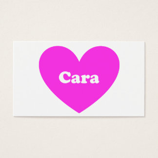Cara Business Card