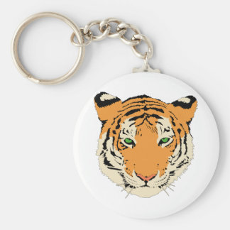 Cara/cabeza del tigre llavero