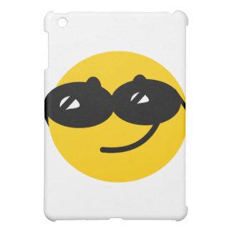 Cara coqueta del smiley de las gafas de sol