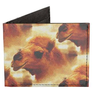 Cara de fascinación del camello billeteras tyvek®