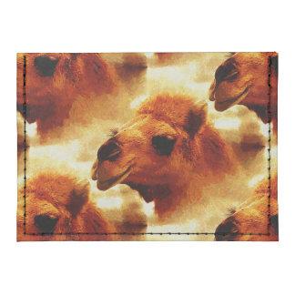 Cara de fascinación del camello tarjeteros tyvek®