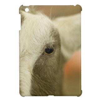 Cara de la cabra iPad mini cobertura