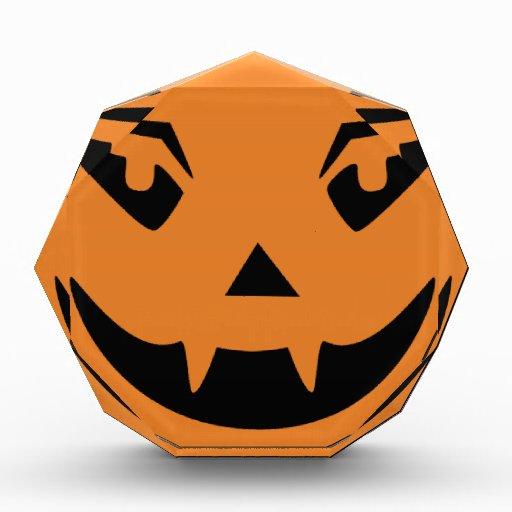 Cara de la calabaza del feliz Halloween