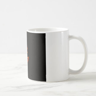 Cara de la calabaza taza básica blanca