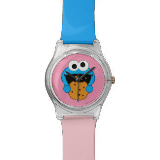 Cara de la galleta relojes de pulsera