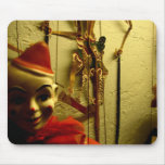 Cara de la marioneta alfombrilla de ratón