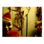Cara de la marioneta postal