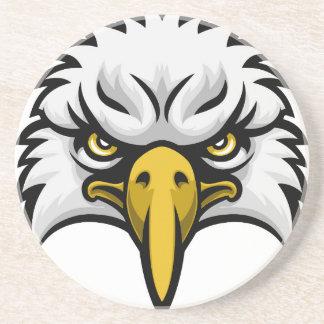 Cara de la mascota de Eagle Posavasos Personalizados