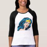 Cara de la Mujer Maravilla Camiseta