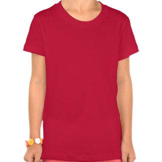 Cara de la panda de Kawaii T-shirts
