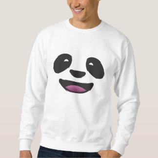 Cara de la panda - fauna animal linda pulovers sudaderas