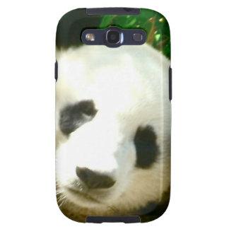 Cara de la panda samsung galaxy s3 carcasa