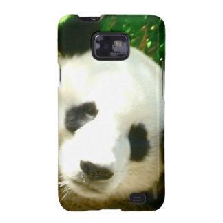 Cara de la panda samsung galaxy SII fundas