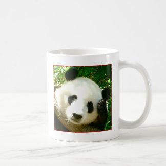 Cara de la panda tazas de café