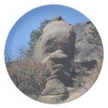 Cara de la roca