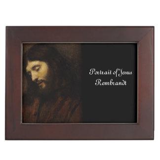 Cara de la vista lateral de Jesús Caja De Recuerdos