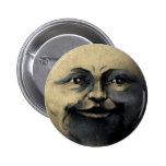 Cara de luna mágica antigua pin