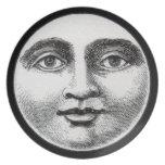 Cara de luna platos