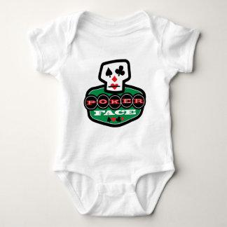 Cara de póker body para bebé