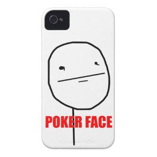 Cara de póker - caso del iPhone 4/4S iPhone 4 Case-Mate Carcasas