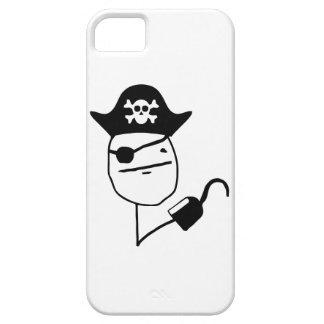 Cara de póker del pirata - meme iPhone 5 carcasa