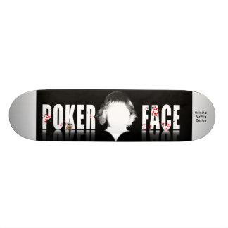 Cara de póker, diseño original de MrEco Skateboard
