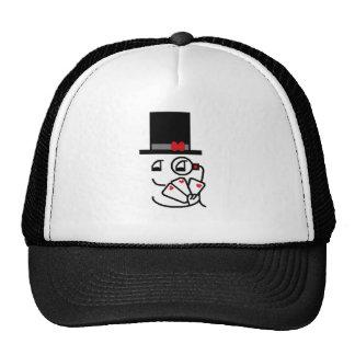 Cara de póker gorras de camionero