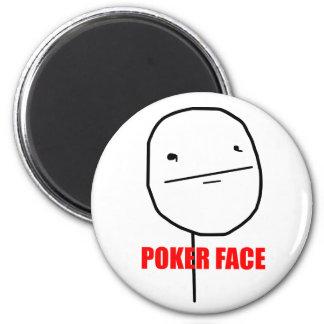 Cara de póker - imán