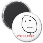 Cara de póker imán