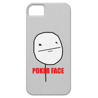 Cara de póker Meme iPhone 5 Carcasas