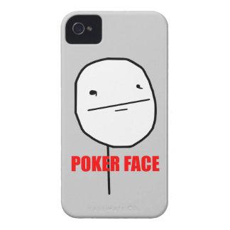 Cara de póker Meme iPhone 4 Protectores