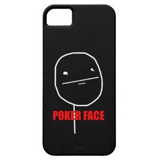 Cara de póker Meme iPhone 5 Case-Mate Protectores