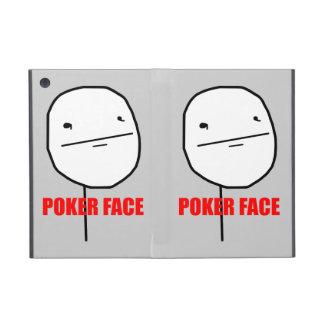 Cara de póker Meme iPad Mini Carcasas