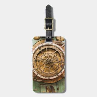 Cara de reloj antigua, Alemania Etiquetas Para Maletas