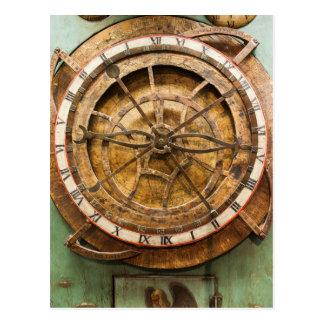 Cara de reloj antigua, Alemania Postales