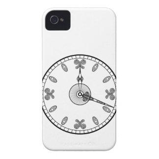 Cara de reloj carcasa para iPhone 4