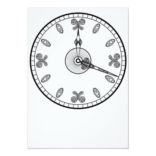 Cara de reloj comunicado