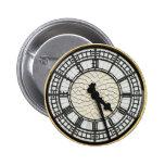 Cara de reloj de Big Ben Pin