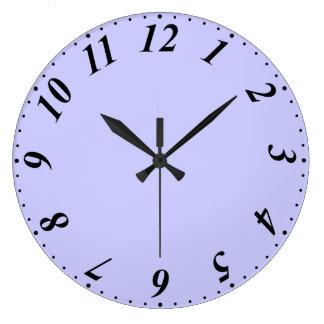 cara de reloj de la hora de la media hora con minu