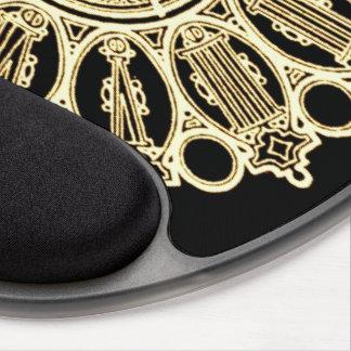 Cara de reloj de la suposición del Victorian de St Alfombrillas Con Gel