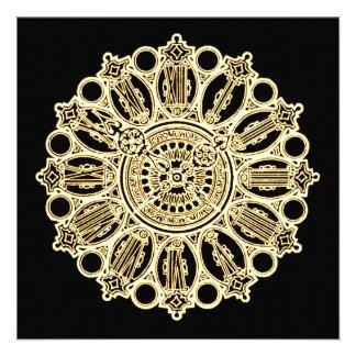 Cara de reloj de la suposición del Victorian de St Comunicado