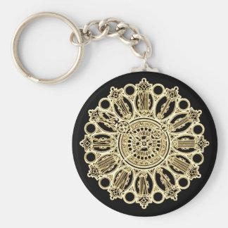 Cara de reloj de la suposición del Victorian de St Llavero Personalizado
